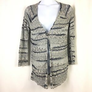 Lucky Brand Womens Cardigan Large Button